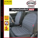 Vyhřívaný potah sedačky 12V šedý HEYNER WARMCOMFORT 504200