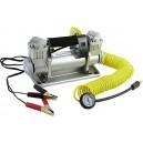 Autokompresor 12V kov+příslušenství 10Bar 150l/min