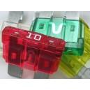 Pojistky nožové 5A - 40A / balení - 100ks