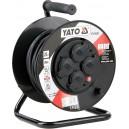 Prodlužovák bubnový 4zásuvky IP44 16A 20 m YATO YT-81052