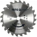 Kotouč na dřevo 235 x 25,5 mm 24z (pro YT-82153) YATO YT-60668