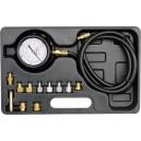 Souprava k měření kompresního tlaku oleje, 12ks, 0-35bar YATO YT-73030