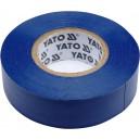 Izolační páska elektrikářská PVC 19mm / 20m modrá YATO YT-81651
