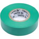 Izolační páska elektrikářská PVC 19mm / 20m zelená YATO YT-81652