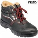 Boty pracovní kotníkové zimní TEZU vel. 46 YATO YT-80848