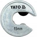 Řezač trubek 15 mm PVC, Al, Cu YATO YT-22353