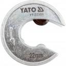 Řezač trubek 22 mm PVC, Al, Cu YATO YT-22355