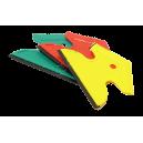 krabka trojúhelník s gumou JACKY