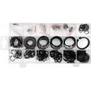 Pojistné kroužky sada 300ks, R1-R19, pr. 3 -32mm YATO YT-06880
