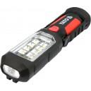Lampa montážní 8+1 LED, hák+magnet YATO YT-08513