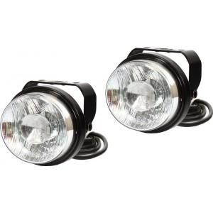 Světla pro denní svícení LED 12-24V WAS W50 pár