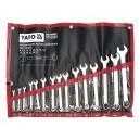 Sada klíčů očkoplochých 15ks 6 - 27 mm YATO YT-0065