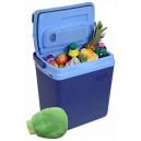 Chladící box 25litrů BLUE 220/12V displej Compass 07121