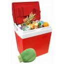Chladící box  30litrů RED 220/12V displej Compass 07125