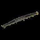 Zadní stěrač pouze lišta 380mm ŠKODA FABIA I