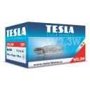 Autožárovka 12V W2.3W W2x4.6d TESLA B62101