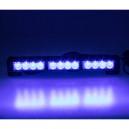 LED světelná alej 12x LED 3W modrá 360mm