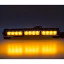 LED světelná alej 12x LED 3W oranžová 360mm