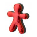Osvěžovač JEFF červený chrome Raspberry & Patchouli
