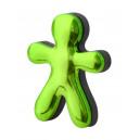 Osvěžovač JEFF zelený chrome - Lemon & Orange