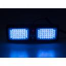 PREDATOR dual LED vnitřní, 12V, modrý, 320mm