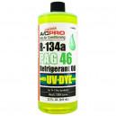 PAG olej ISO 46 s UV barvivem 946 ml