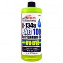 PAG olej ISO 100 s UV barvivem 946 ml